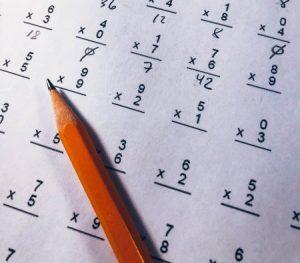 pré-test équivalence secondaire 5